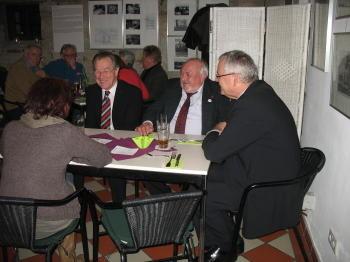 F. Müntefering, B. Brinkmann,  Landrat R. Wegner