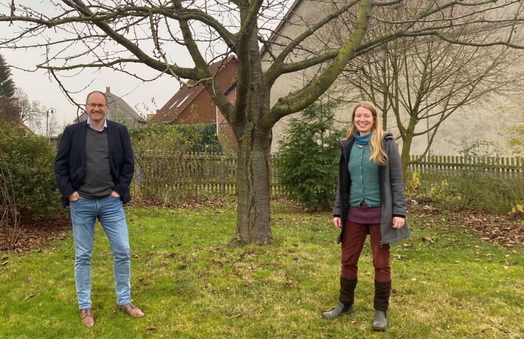 Sven Wieduwilt und Simone Flohr.