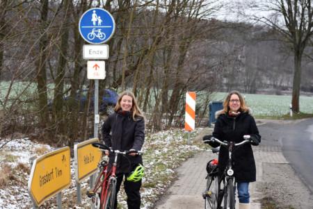 Radweg Grasdorf Holle