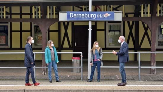 Bahnhof barrierefrei Lynack Westphal
