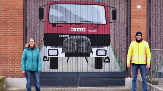Maike Gückel Spaziergang Sillium Feuerwehr