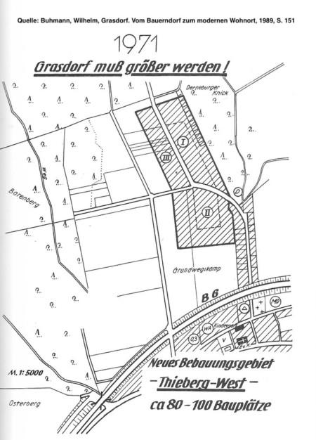 Grasdorf Muss Größer Werden 1971